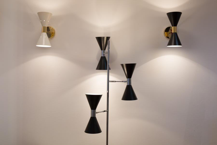 Preferenza Lampada da Soffitto Orientabile. Stilnovo Vintage Anni '50 MF07