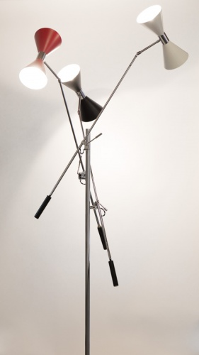 Floor lamp - Stilnovo Vintage 50s