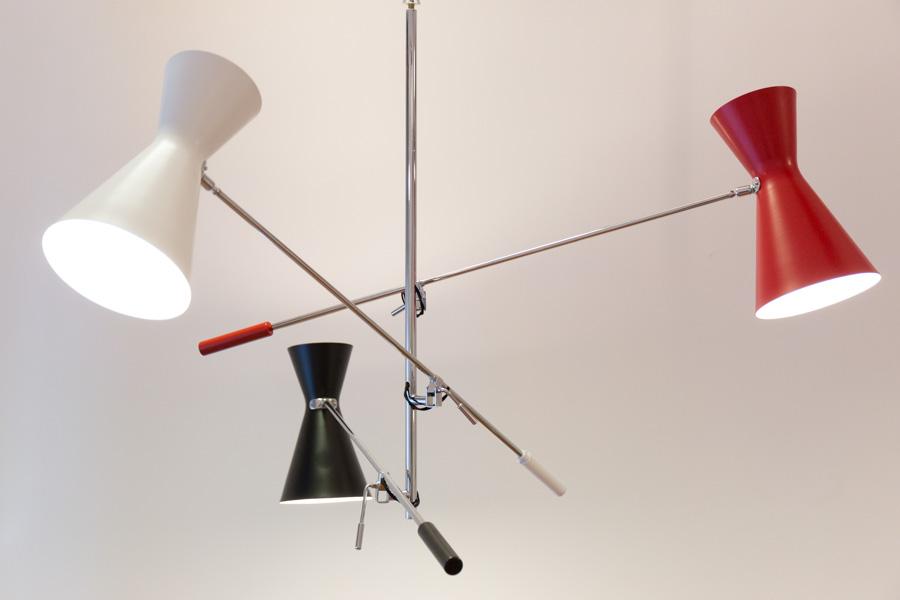 Lampada Vintage Da Terra : Lampada da terra stilnovo vintage anni 50