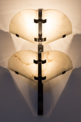 Wall lamp. Pierre Chareau, France 1926
