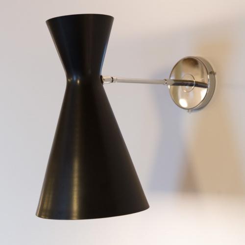 Lampada da parete stilnovo vintage anni 39 50 - Lampade da tavolo anni 50 ...